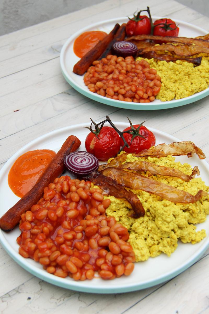 Vegan English Breakfast