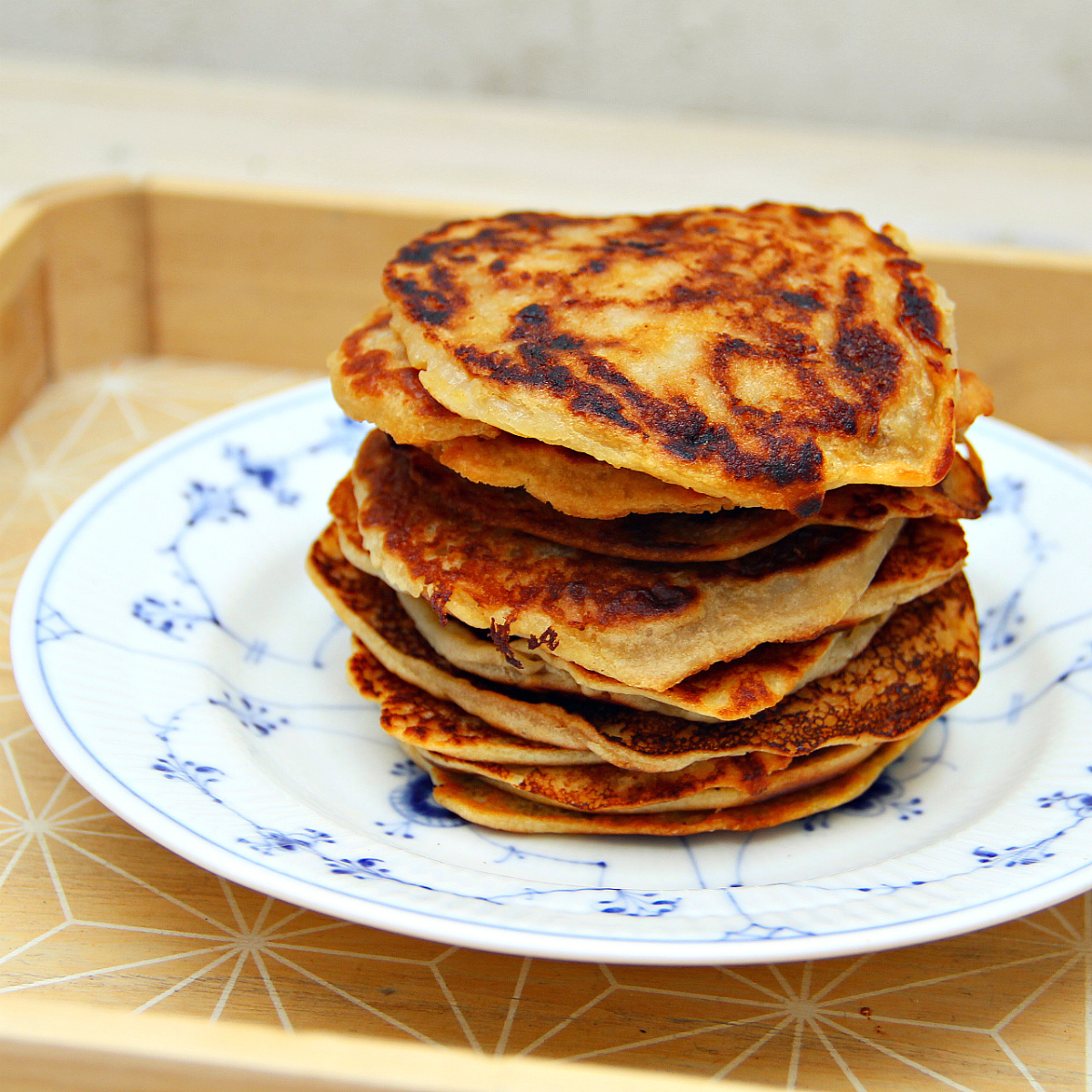 Vegan Klatkager / Danish Rice Pancakes - The Vegan Eskimo