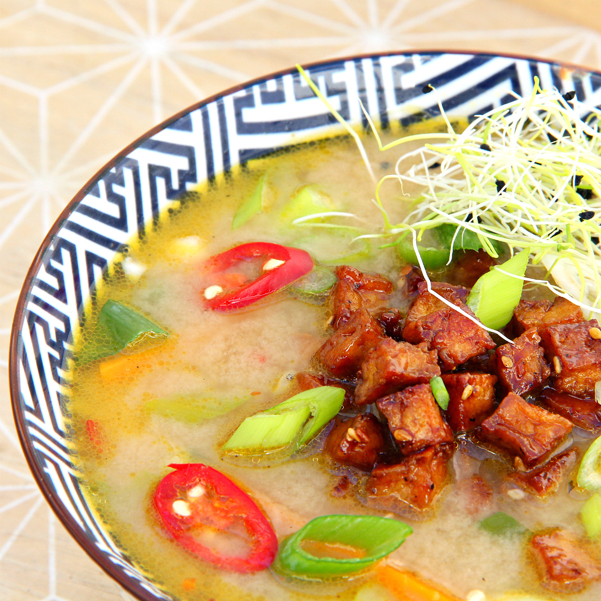 Hearty Vegan Miso Soup - The Vegan Eskimo