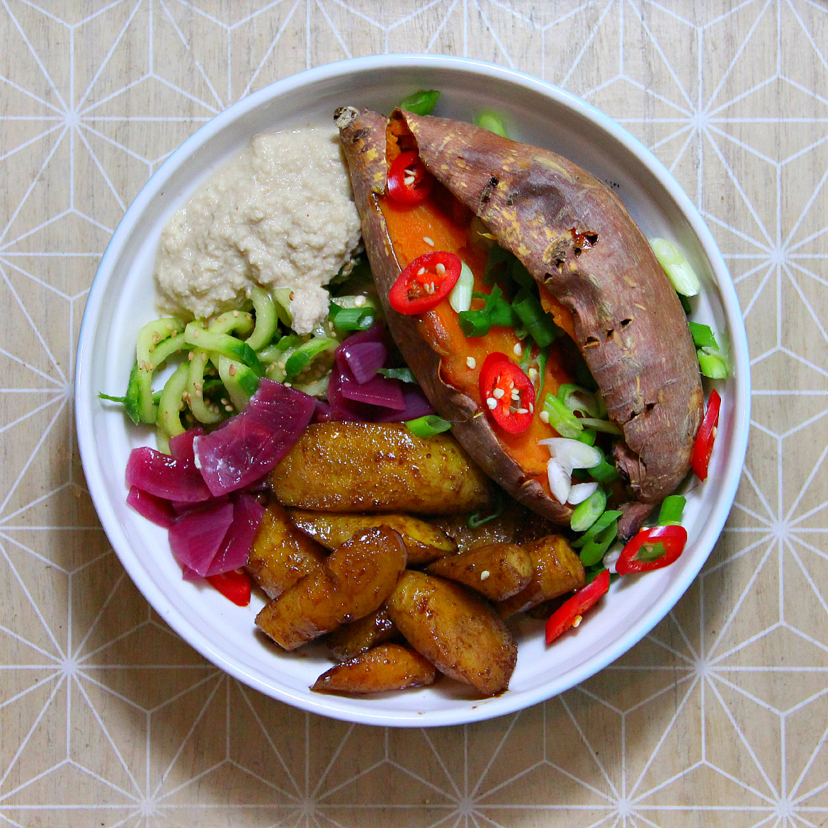 Vegan Autumn Buddha Bowl - The Vegan Eskimo