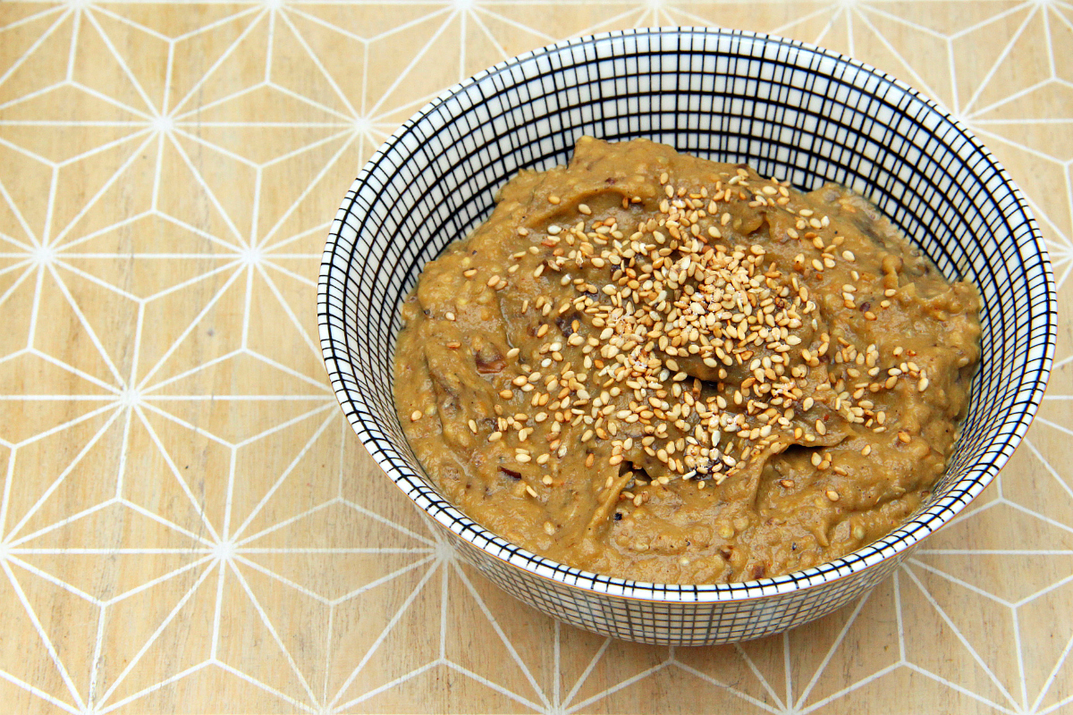 Baba Ganoush & Roasted Garlic - The Vegan Eskimo