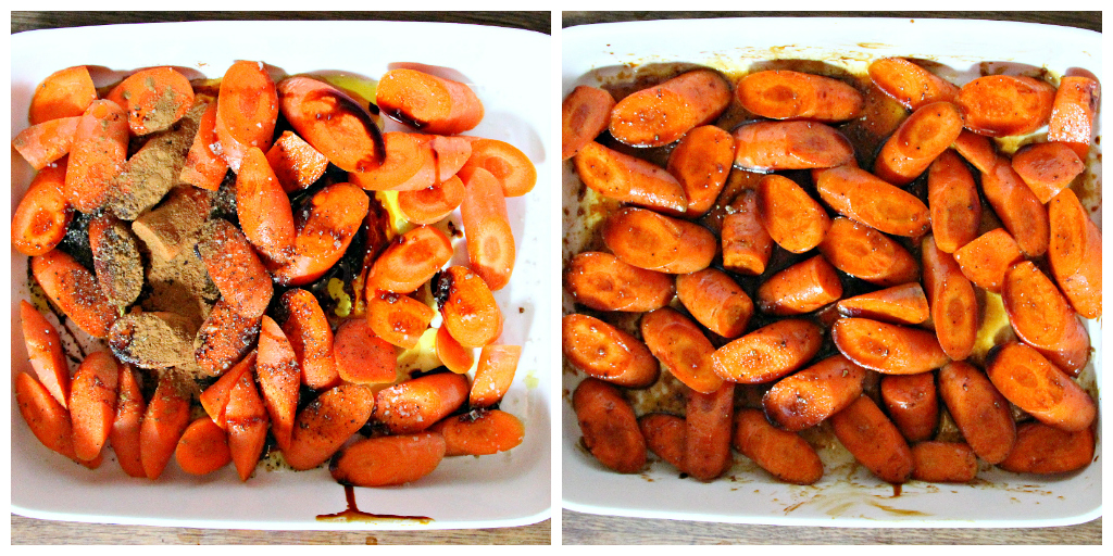 Oven Glazed Carrots & Raisins - The Vegan Eskimo
