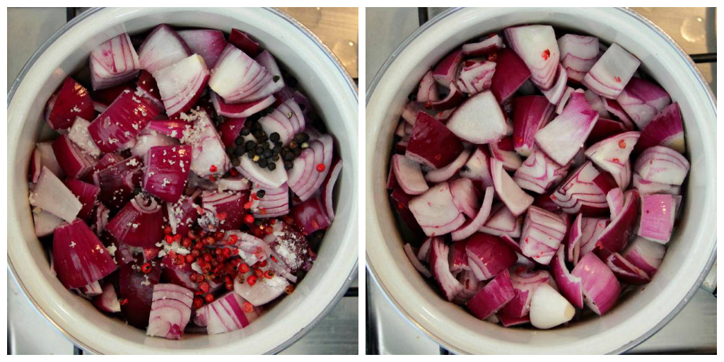 Pickled Red Onions - The Vegan Eskimo