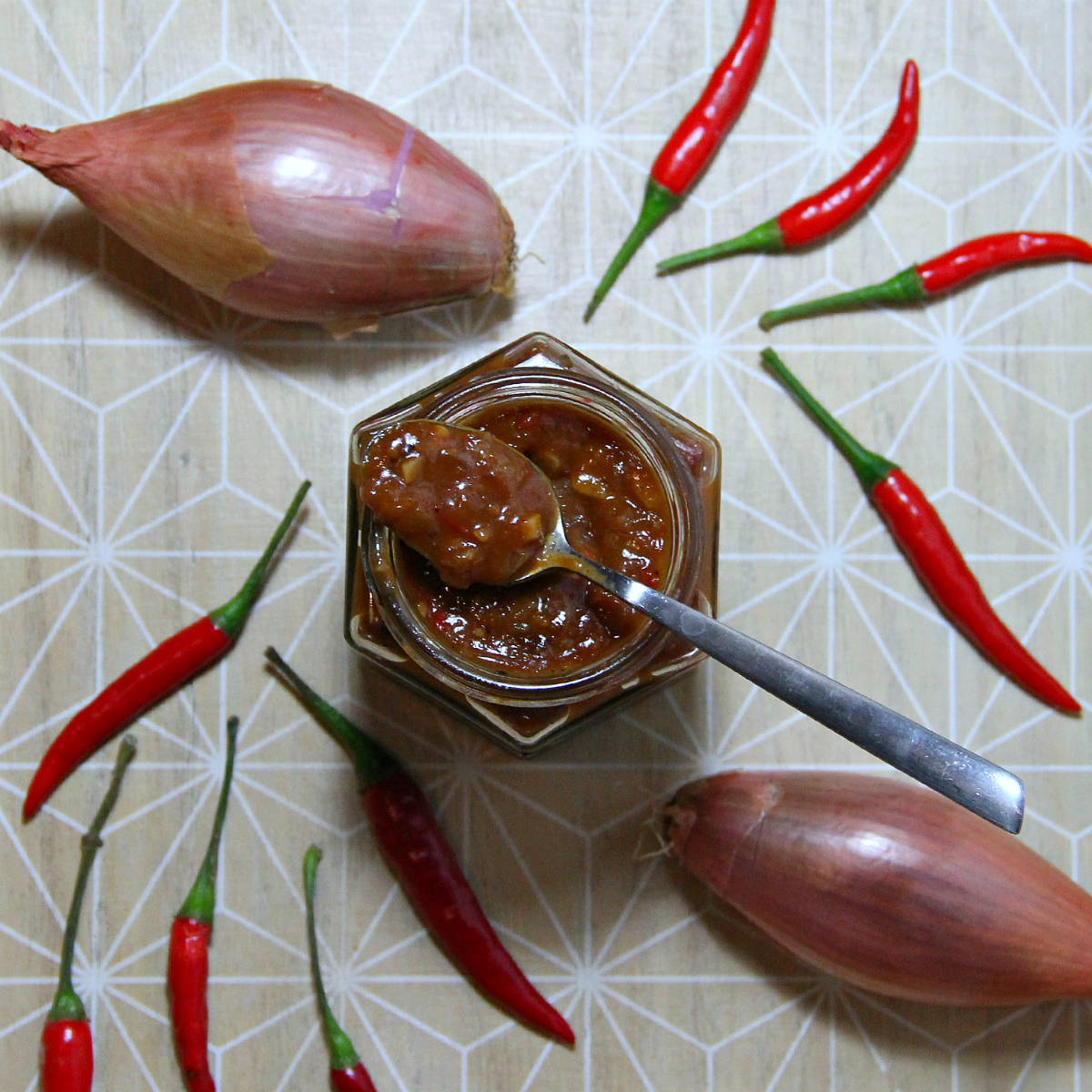Spicy Tomato Shallot Chutney - The Vegan Eskimo