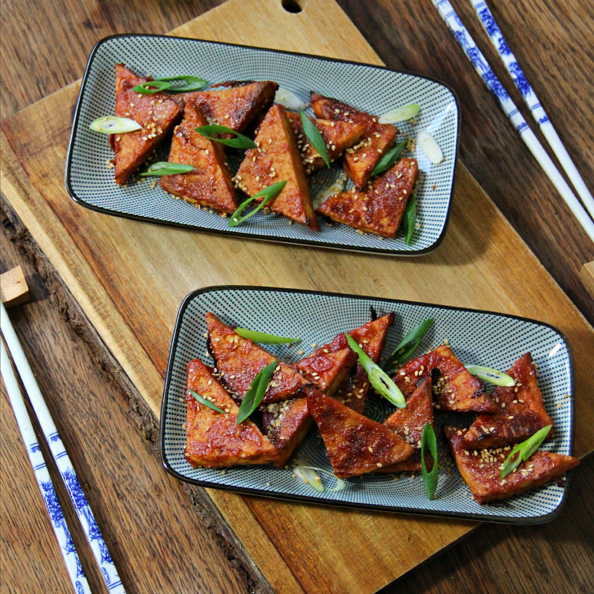 Sweet & Sour Glazed Tofu - The Vegan Eskimo