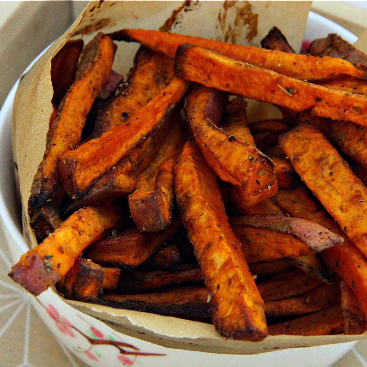 Crispy Sweet Potato Fries - The Vegan Eskimo