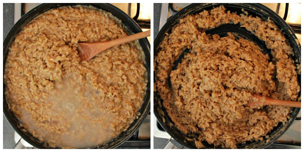 Vegan Caramelized Shallot Risotto - The Vegan Eskimo