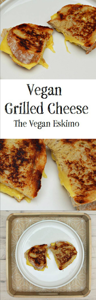 Vegan Grilled Cheese - The Vegan Eskimo